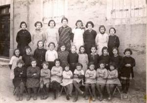 Ecole des filles-Année 1921