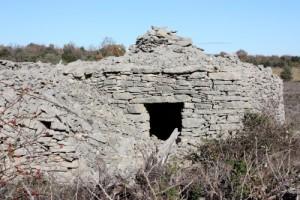 Une cabane sur la plaine de Gras