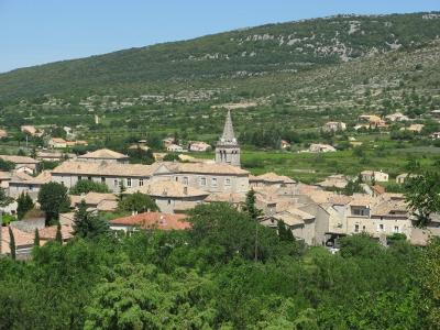 Le village de nos jours, vu du Déves.