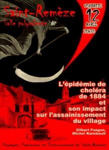 affiche conference cholera