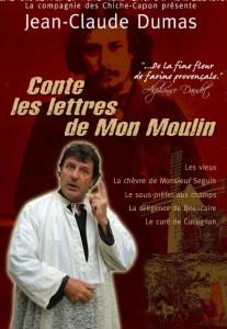 Le comédien Jean-Claude Dumas.