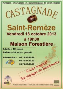 Castagnade 2013