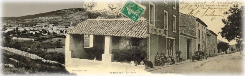 Le village au début du 20ème siècle