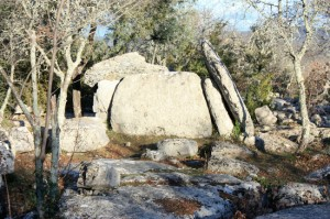 Ranc de Figère, dolmen n°10 à Labeaume.