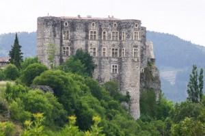 Le château d'Alba.