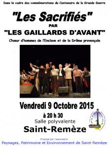 Affiche Concert 14-18
