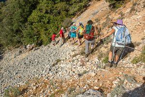 Sortie ENS avec le Conseil départemental dans les Gorges de l'Ardèche